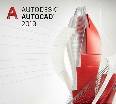 Autodesk AutoCAD 2019 For Windows and Mac | 3 Year Licence |