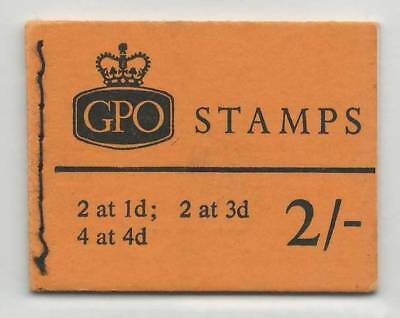 GB  May 1968  MNH Complete Stamps Booklet  2/- GPO