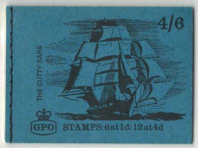 GB  May 1968  MNH Complete Stamps Booklet  4/6d GPO