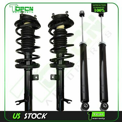 Pair Front Quick Complete Struts /& Coil Spring Assemblies Compatible with 2000-2005 Ford Focus