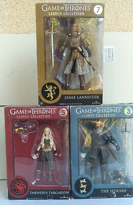 Game Of Thrones 3 Figurines Legacy Collection,a Voir