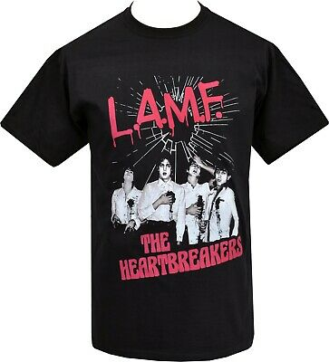 Mens Punk T-Shirt Johnny Thunders & The Heart Breakers La.m.f Lamf American Punk