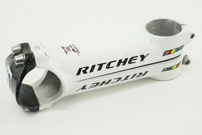 Ritchey WCS 4 Axis Road Bicycle Stem White/Black 110mm 31.8mm +/- 6 Degree