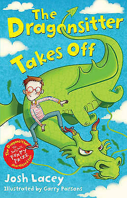 New, The Dragonsitter Takes Off (The Dragonsitter series), Josh Lacey, Book