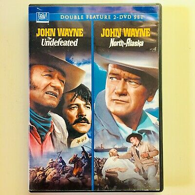 John Wayne Double Feature (2-DVD Set 2008) The Undefeated, North to Alaska