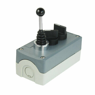 240V 3A NO Latching Selector Momentary 3-Position Joystick Push Button Station