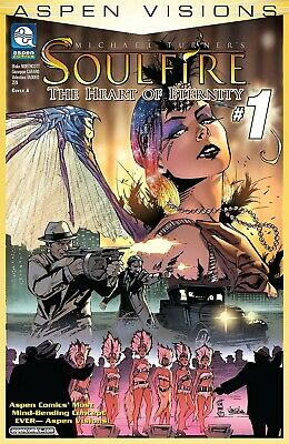 ASPEN VISIONS Vol. 1 #1: Soulfire: Heart of Eternity - Cover A - New Bagged