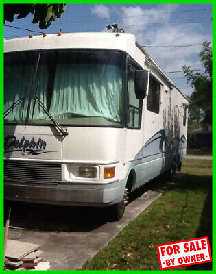 2000 National Dolphin 5371 37' Class A Motorhome Triton V10 Gas 2 Slides c549127