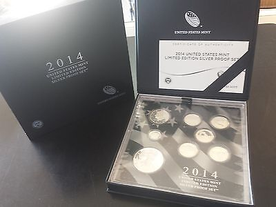 2014 United States Mint Limited Edition Silver Proof Set