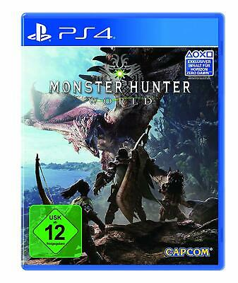 Sony Playstation 4 PS4 Spiel Monster Hunter World