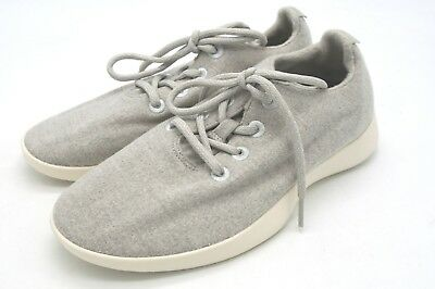 New Men's Allbirds Wool Runners Lace Up Kotare Birch Rare Color 8 M