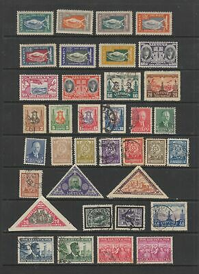Lithuania early collection , 82 stamps , MH or used