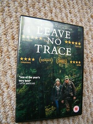 LEAVE NO TRACE (dvd 2018) is a worthwhile and recommendable film