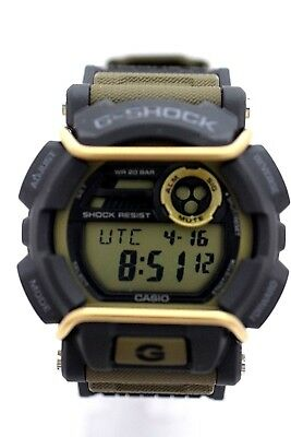 CASIO G-SHOCK GD400-9 Green Strap Digital New w Box GD400 GD-400