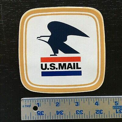 Vintage 1970S/80S United States Mail Eagle Decal/sticker Mint Cond!! M