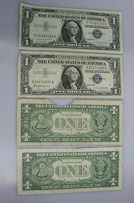 143 Silver Certificates & 2 Red Seal Notes