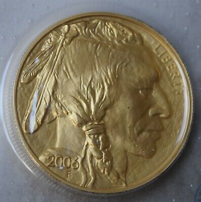 "2006-W $50 American Gold Buffalo 1 OZ ""BU"" *Free S/H After 1st Item*"