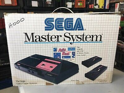 Console Sega Master System Pack Alex Kidd In Miracle World
