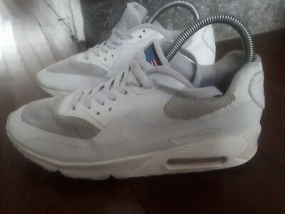 new style 370da a61b3 GENUINE Nike Air Max 90 Hyperfuse QS USA Independence Day White size uk 6  /41