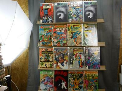 DC comic Lot Misc. Mixed 22 comics Total Batman Superman PR-VF/NM Lot 1