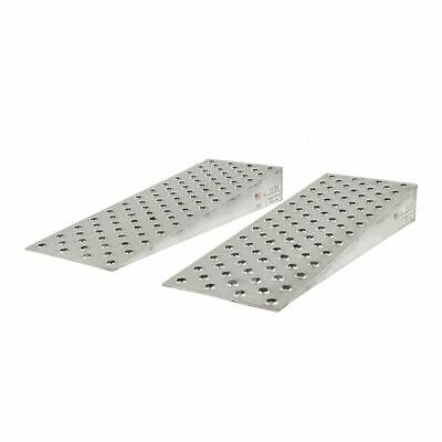 """Guardian Aluminum Shipping Container Ramp Wedge - 36"""" L x 16"""" W"""