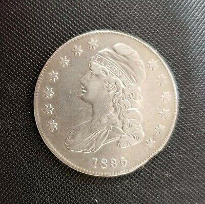 1835 Capped Bust Half Dollar VF with problems