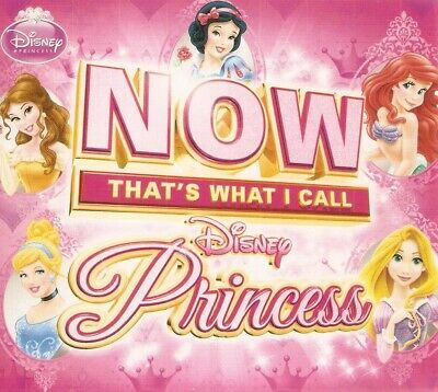 Various - Now That'S What I Call Disney Princess (2xCD 2013) Digipak; Enhanced