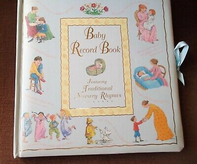 A Baby Record Book Featuring Traditional Nursery Rhymes