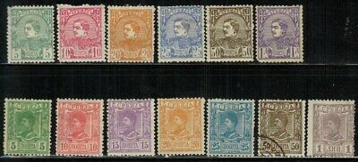Serbia #27-39 Complete Set 1880-90 MH/Used(38)