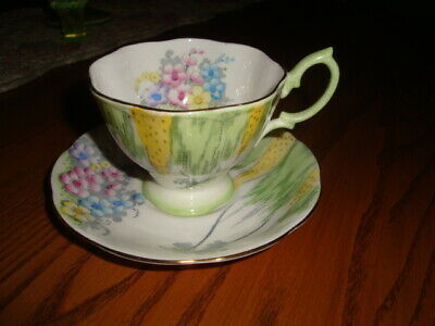 "Royal Albert Cup/saucer ""woodland Glen"""