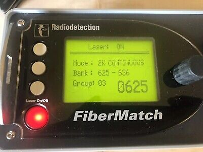 Radiodetection FiberMatch Fiber Match Laser