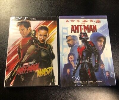 Marvel Ant-Man & Ant-Man and The Wasp bundle of 2 new DVDs Free Shipping