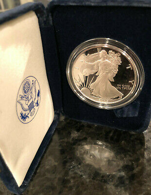 2005-W American Silver Eagle Proof with U.S. Mint Box