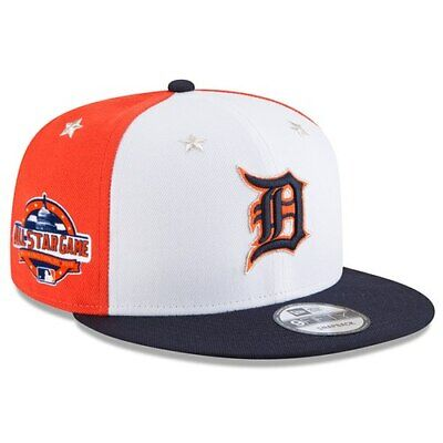 los angeles fda91 bd8c0 New Era Detroit Tigers White Navy 2018 MLB All-Star Game 9FIFTY Snapback
