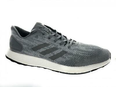 7d55b3a583957 Men s Adidas PureBoost DPR Running Athletic Shoes BB6290 Grey White Size  10.5