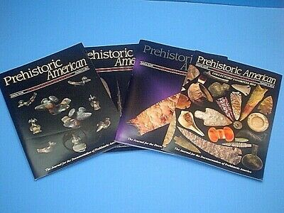 Prehistoric American Magazine 2014 Complete Year 4 Issues