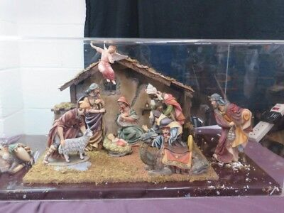 LOCAL PICKUP ONLY huge Christmas Nativity Scene Display