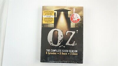 Oz - The Complete Sixth Season (DVD, 2006, 3-Disc Set) [Factory Sealed]