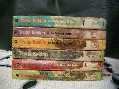 Trixie Belden Lot of 6 from the Uglies Series (2,3,4,7,8,15)