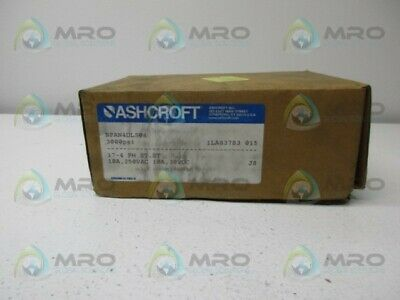 Ashcroft Npan4Dls04 Pressure Switch 3000 Psi *New In Box*