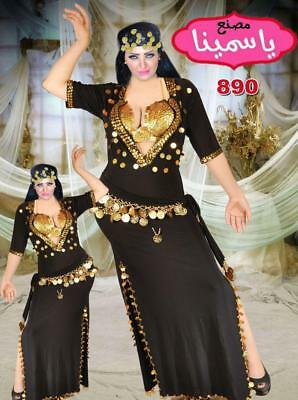 013911355a18b EGYPTIAN BELLY Dance Dress, Saidi Costume,Baladi Galabeya - $20.00 ...