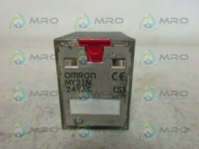 Omron My2In Relay 24V *Used*