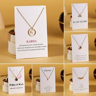 Women Star Crystal Pearl Card Silver Pendant Necklace Choker Chain Card Jewelry