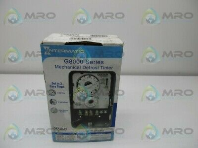 Intermatic G8045-20 Defrost Timer * New In Box *