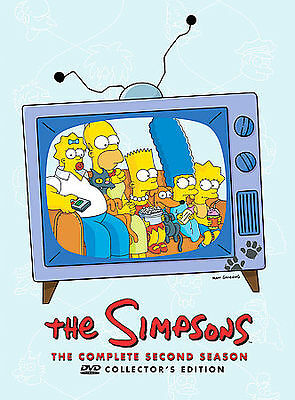 The Simpsons - The Complete Second Season (DVD, 2009, 4-Disc Set, Canadian Colle