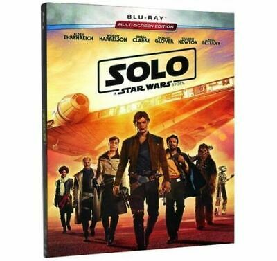 Solo A Star Wars Story - Blu-Ray - New