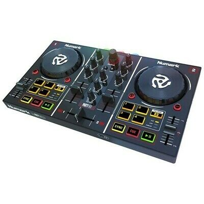 Numark Party Mix DJ Controller with Built-in Light Show 4