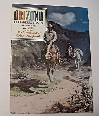 Vintage 1971 Arizona Highways Travel Souvenir Memorabilia Book / Magazine