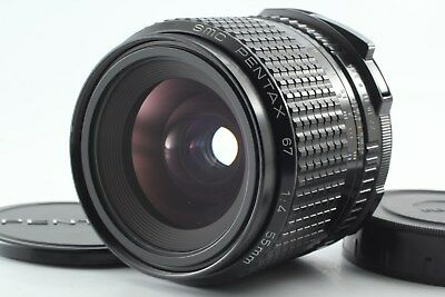 【TopMint】 PENTAX P SMC 55mm f/4 67 Late for 6x7 67II Lens from Japan #73-50200