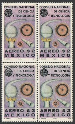 Mexico C394 block/4,MNH.Michel 1359. National Council of Science & Technology.